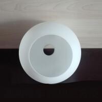 磨砂灯罩双开口圆球双开口灯罩灯饰配件奶白磨砂玻璃球形口灯罩台灯吊灯灯罩