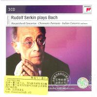 现货 [中图音像][进口CD]鲁道夫・塞尔金演奏的巴赫作品集 3CD Plays Bach -Box Set-
