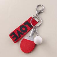 挂件创意可爱汽车锁匙链圈环男士女款包包挂饰
