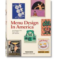 Menu Design in America ,美国复古菜单设计平面广告海报 平面设计