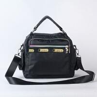 升级女包包新款手提包单肩防水花布包包手拎包休闲斜挎包妈咪包