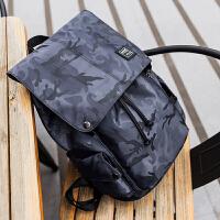 背包双肩包男时尚潮流旅行迷彩书包男大学生休闲韩版电脑包