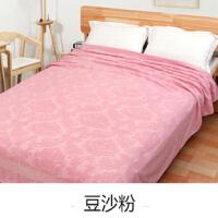 老式毛巾被纯棉单人加厚棉毛巾毯双人薄款午睡空调毯