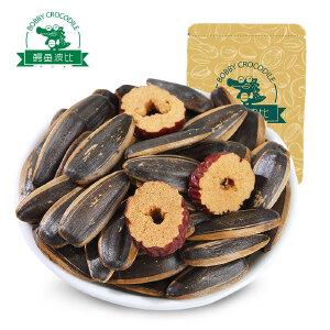 鳄鱼波比_红枣味瓜子200gx2休闲零食坚果炒货葵花籽