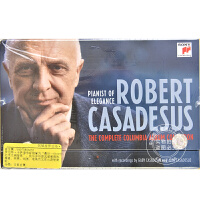 现货 [中图音像][进口CD]钢琴家罗伯特・卡萨德修斯Columbia录音全集 65CD Complete Colum