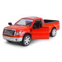 MZ美致 福特皮卡F-150合金汽车模型带回力声光功能儿童玩具车