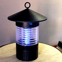 太阳能灭蚊灯户外防水全自动庭院花园室外充电捕杀灭虫灯驱蚊神器