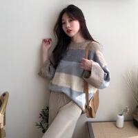 chic两件套秋装新款韩版网红毛衣针织衫宽松阔腿裤时尚套装女
