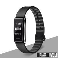 适用华为A2智能手环替换表带 男女运动荣耀畅玩 彩色手表硅胶腕带