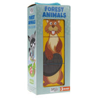 英文原版FOREST ANIMALS森林动物 儿童绘本
