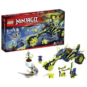 [当当自营]LEGO 乐高 NINJAGO幻影忍者系列 锁链伏击车 积木拼插儿童益智玩具 70730