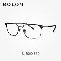 暴龙平光镜男款金属全框眼镜框商务大框近视眼镜框眼镜架BJ7000