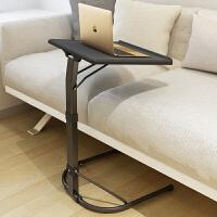 御目 电脑桌 家用落地笔记本电脑桌床上用懒人桌折叠升降可移动学习写字书桌简易沙发桌写字台床边课桌子家具用品