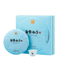 八马茶叶 福鼎白茶六年藏白牡丹白茶饼茶白茶仙子茶礼盒装200g