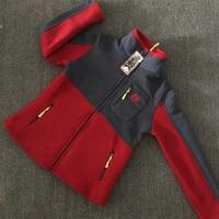 秋冬季户外抓绒衣女式摇粒绒休闲卫衣开衫冲锋衣内胆保暖加厚外套