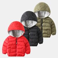 儿童棉衣手塞棉宝宝棉袄冬装童装保暖男童外套潮