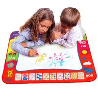 水魔法神奇画布 超大蓝色 水画布水写学习涂鸦 儿童益智玩具