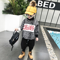 男童外套秋冬季中大童卫衣男宝宝套装