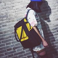 韩版双肩包背包大容量女高中学生旅行书包