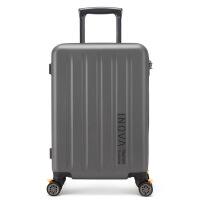 2018新款商务PC万向轮拉杆箱20寸拉链行李箱登机箱24寸托运箱旅行箱女 20寸