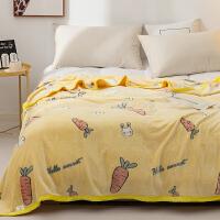 多喜爱毯子法兰绒毯冬季珊瑚绒床品保暖绒懒人毛毯午睡毯倾心时光