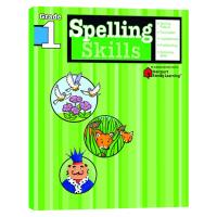 Flash Kids拼读技巧1年级 英文原版 Spelling Skills Grade 1美国小学英语教辅教材Harc