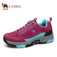camel骆驼女鞋 春季防滑耐磨户外登山鞋徒步鞋运动鞋女低帮休闲鞋