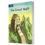 华研原版 长城在哪里 英文原版 Where Is the Great Wall? 英文儿童桥梁章节书 中小学生读物 全