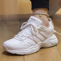 幸运叶子 Adidas阿迪达斯女鞋2021春季新款低帮运动鞋舒适透气轻便缓震防滑耐磨休闲跑步鞋FY8492