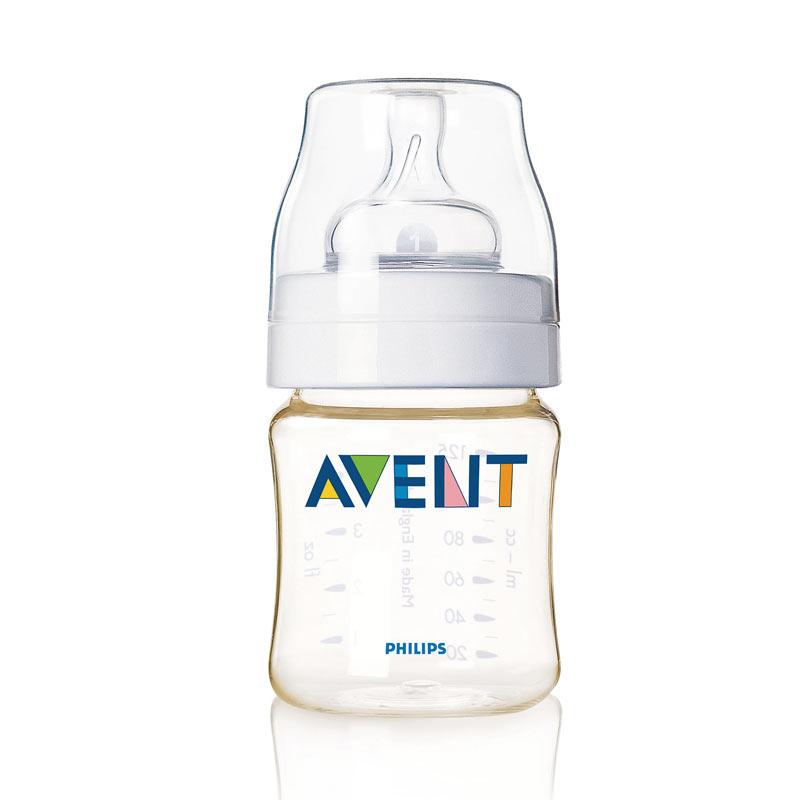 【当当自营】飞利浦 新安怡AVENT 单个装PES奶瓶4安士/125ml SCF660/17