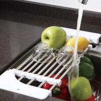 [当当自营]宝优妮 沥水架小碗架厨房置物架盘子架伸缩不锈钢水槽架厨具沥水架DQ0076