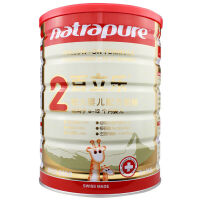 百立乐natrapure较大婴儿配方奶粉2段800克(瑞士原装进口)