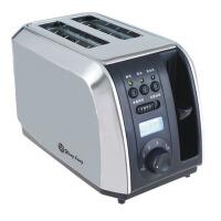 不锈钢2片智能烤面包片机 全自动吐司机