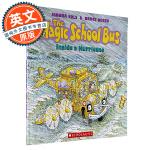 神奇校车穿越飓风 英文原版童书The Magic School Bus Inside a Hurricane 学乐 6