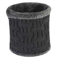 冬季围脖男士针织保暖中老年人护颈椎套头脖套