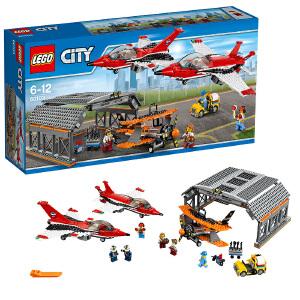 [当当自营]LEGO 乐高 City城市系列 机场飞行表演 积木拼插儿童益智玩具60103