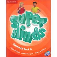 英音版剑桥小学英语教材 Super Minds Level 4 Student's Book with DVD-ROM 第四级别 学生用书