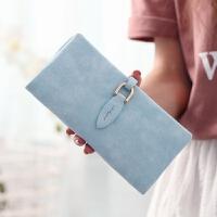 2018新款钱包女长款小清新多卡位大容量欧美手拿包女学生零钱包女