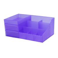 抽屉式化妆品收纳盒大号创意桌面收纳盒塑料收纳箱
