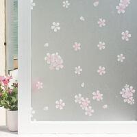 窗花纸免胶静电玻璃贴膜磨砂浴室卫生间窗户贴纸透光不透明窗贴玻璃纸