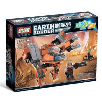 古迪地球边境2天网轰击 启蒙益智组装拼插拼装塑料积木玩具8224