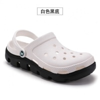 夏季迪特洞洞鞋女韩版防滑学生可爱休闲沙滩鞋百搭沙滩凉鞋女拖鞋
