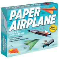 英文原版 纸飞机2020年日历 每天一页折纸 创意飞机设计 Paper Airplane Fold-a-Day 202