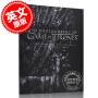 预售 冰与火之歌权力的游戏摄影画册艺术设定集 英文原版 The Photography of Game of Thrones 精装 乔治马丁 George RR Martin