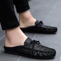 豆豆鞋男社会韩版潮牌夏天男鞋夏季套脚潮英伦风的鞋子男生板鞋夏季男士懒人鞋网红同款鞋子