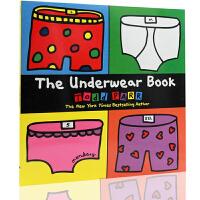 英文原版绘本 The Underwear Book 纽约时报畅销书作家Todd Parr平装大开本 儿童启蒙读物