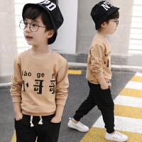 男童秋装运动套装宝宝男孩衣服
