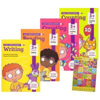 Essential Workbooks Pack Preschool 核心技能练习册4册套组 学龄前综合教辅 3岁适用