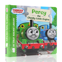 英文原版绘本 小火车托马斯和他的朋友们 Thomas & Friends Percy the cheeky littl
