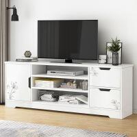 【1件3折 领券】现代电视柜茶几组合套装北欧小户型钢木客厅家具茶几电视机柜